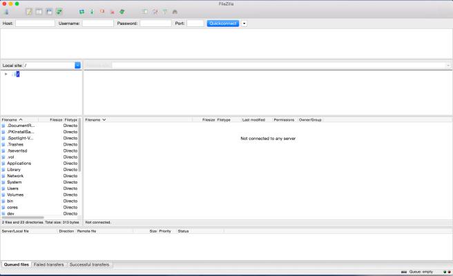 FileZilla es un software de FTP gratuito y simple