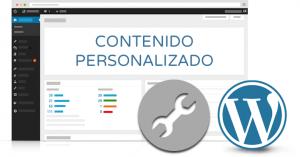 contenido personalizado wordpress