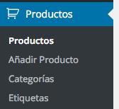 "CPT ""Productos"""