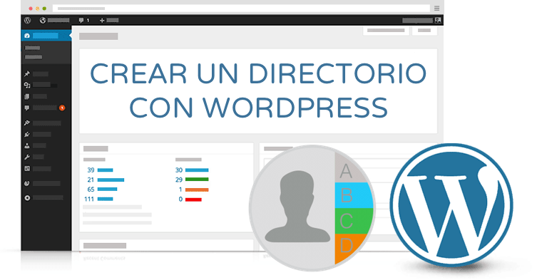 crear directorio wordpress