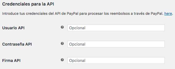 Podemos usar la API de PayPal