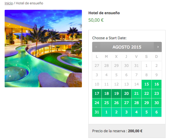 bookings para woocommerce boluda com