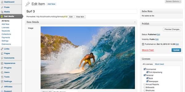 Completamente integrado en WordPress
