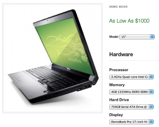 Producto totalmente personalizable en WooCommerce