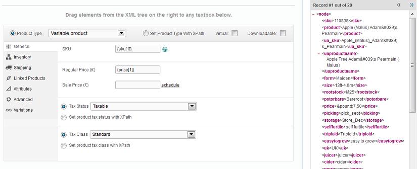El plugin te permite ver en todo momento como quedarán tus datos