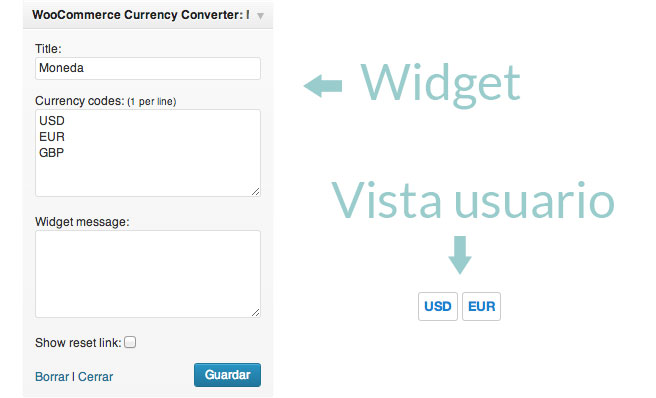 Multiples monedas en WooCommerce