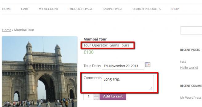 Cada tour operador puede añadir sus productos