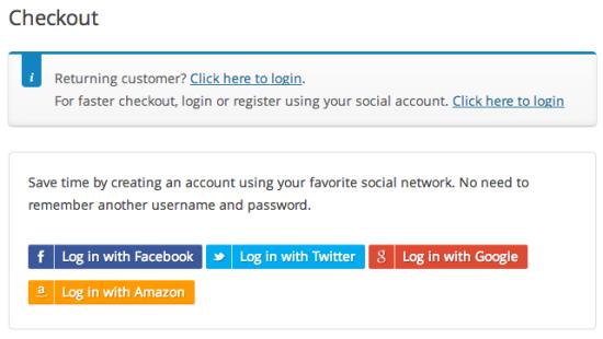 Puedes crear una cuenta en tu WooCommerce con todas estas redes sociales