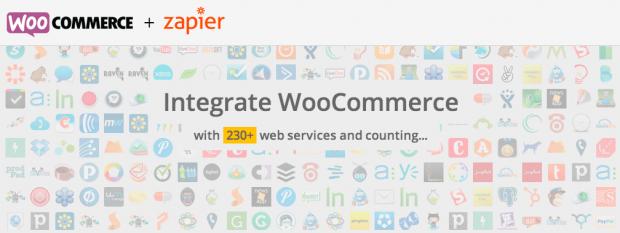 Zapier nos permite sicronizar WooCommerce con más de 250 servicios