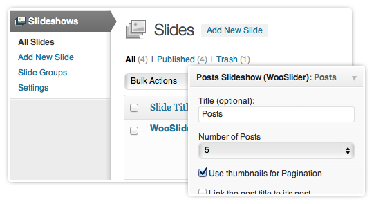 Colocar un slider en WordPress