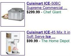 Ejemplo de Product Listing Ads
