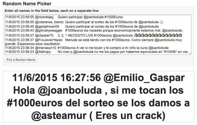 ¡Felicidades, Emilio!