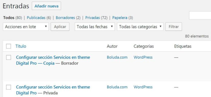 entrada duplicada duplicate post wordpress