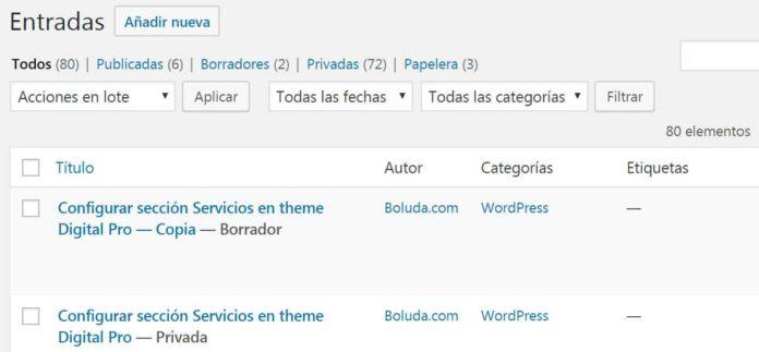 entrada duplicada duplicate post wordpress