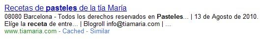 Forzar a Google a usar tu META Description