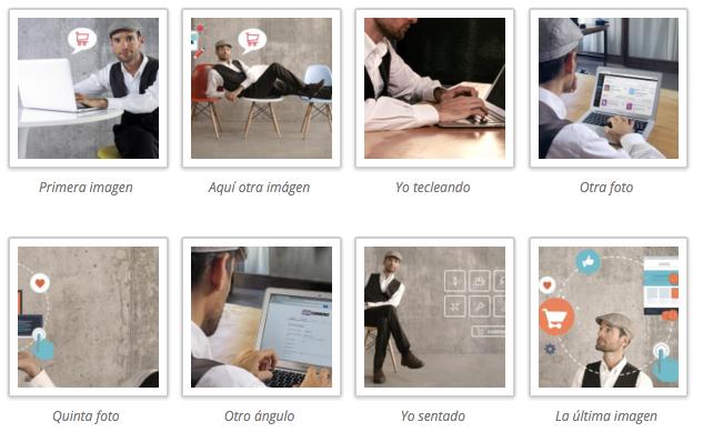 insertar galeria imagenes wordpress