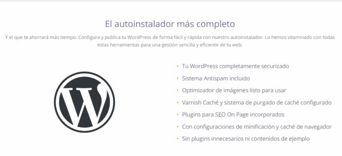 instalador wordpress dinahosting
