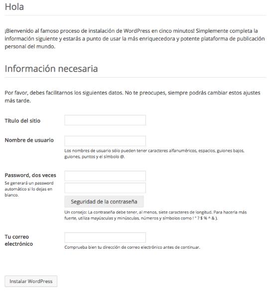 Instalar WordPress en local - Boluda.com