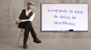 limpiando la base de datos de wordpress