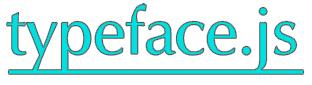 Logo typeface.js