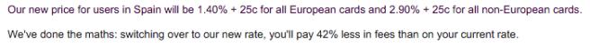 En proyectos Europeos el ahorro es muy significativo