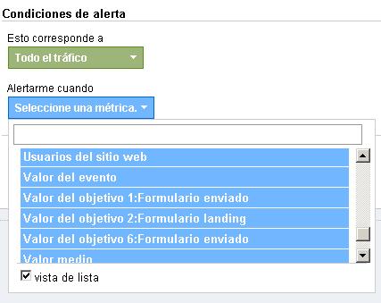 Nuevas Variables en Alertas Personalizadas