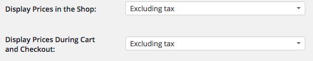 Podemos elegir si mostrar los precios con IVA o sin IVA