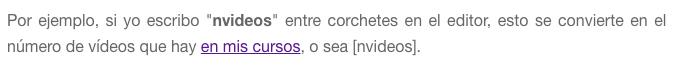 Aspecto de este último párrafo en mi editor de WordPress