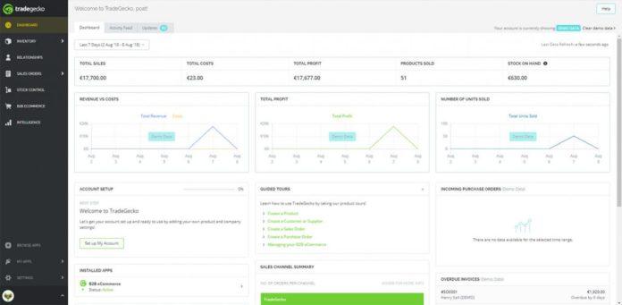 Gestión centralizada de inventarios con TradeGecko