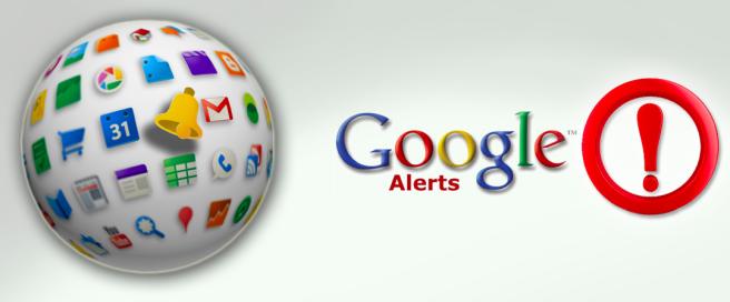 Uso de Google Alerts