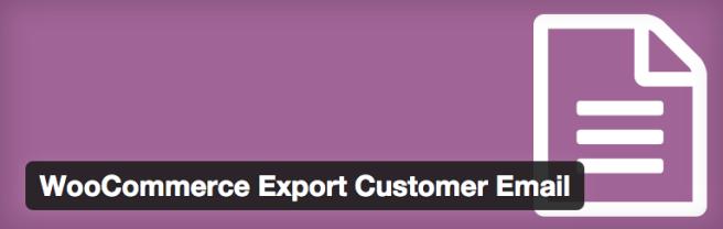 Plugin para exportar listados de clientes