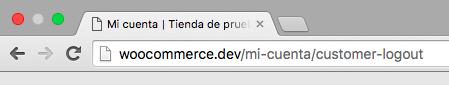 Con esta URL cerraremos la sesión